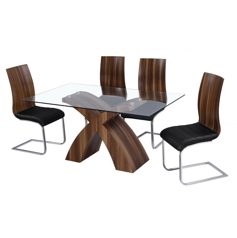 Designer Glass Dining Table Mexico